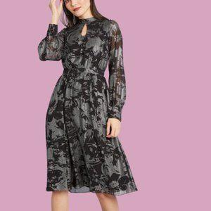 ModCloth More to Adore Long Sleeve A-line Dress